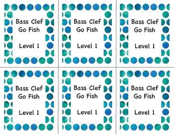 Go Fish: Bass Clef Note ID Lvl 1