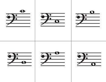 Go Fish: Bass Clef Note ID Lvl 2