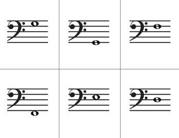Go Fish: Bass Clef Note ID Lvl 3