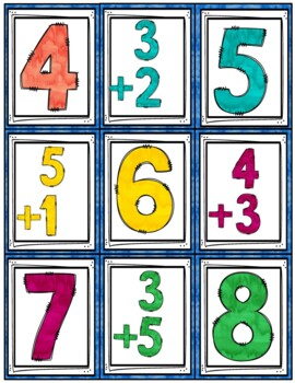 Go Fish Cards (Addition and Subtraction 0-20)