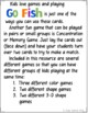 Go Fish Cards (Colors and Shapes)