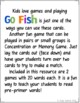 Go Fish Cards (Dolch Pre-Primer Sight Words)