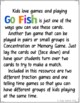 Go Fish Cards (Fractions and Clocks)