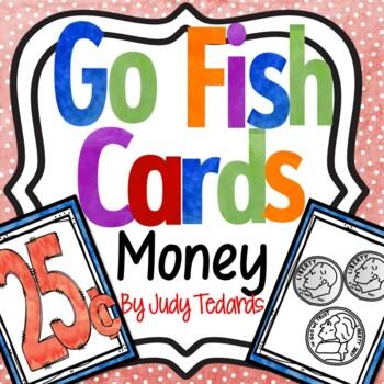 Go Fish Cards (Money)