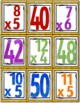 Go Fish Cards (Multiplication Facts)