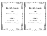 Go Fish Carrier Phrases