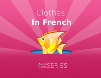 Go Fish - Clothes in French