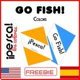 Go Fish! Colors - ¡Pesca! Los Colores - Spanish - ESL