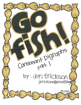 Go Fish!  (Consonant Digraphs Part 1)