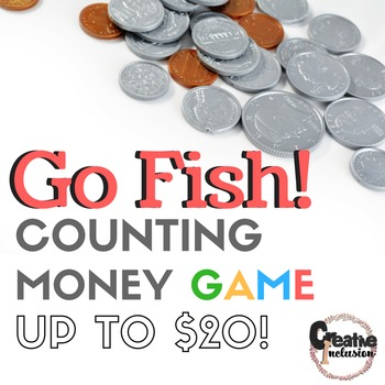 Go Fish! Counting Money to $20