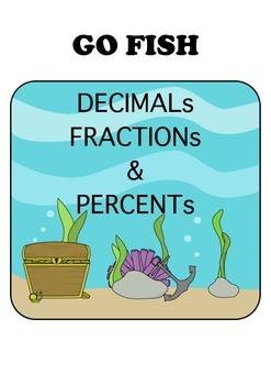 Go Fish: Decimals, Fractions, and Percents