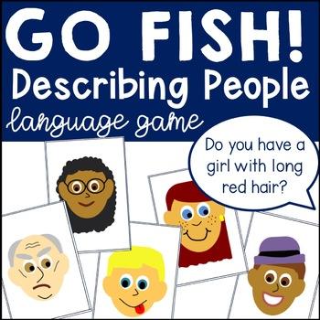 Go Fish! Describing People Game
