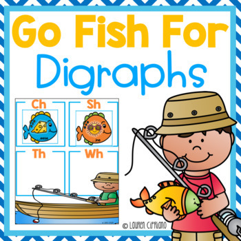 Go Fish Digraph Review Game Ch Sh Th Wh