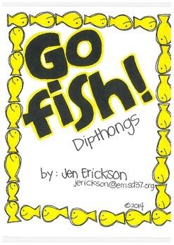 Go Fish! (Dipthongs)