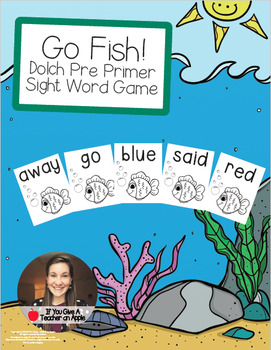 Go Fish! - Dolch Pre Primer Sight Words