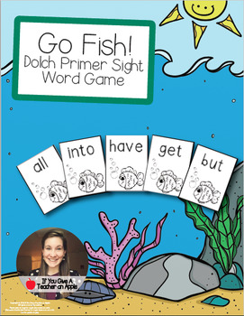 Go Fish! - Dolch Primer Sight Words
