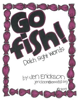 Go Fish! (Dolch Sight Words)