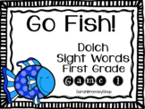 Go Fish! Dolch Sight Words- 1st Grade