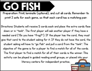 Go Fish Double Consonants
