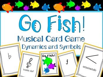 Go Fish! Dynamics and Symbols Edition
