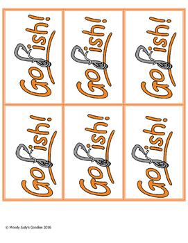 Go Fish English I EOC Reveiw