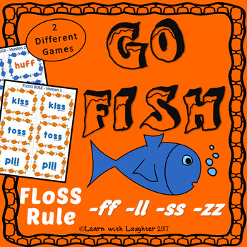 Go Fish - FLoSS Rule (-ff, -ll, -ss, -zz) - 2 different games