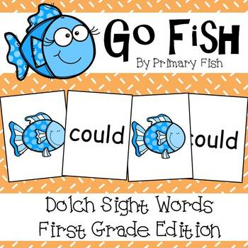 Go Fish - First Grade Dolch Sight Words