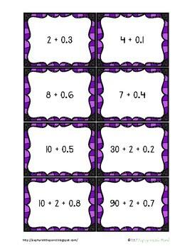 Go Fish: Forms of Decimals {Math Game}