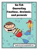 Go Fish Fraction, Decimal, Percent Conversion