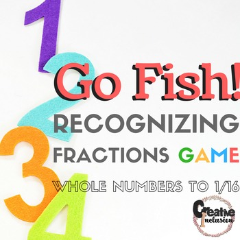 Go Fish! Fractions to 1/16