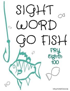 Go Fish! Fry Eighth 100 Sight Word Deck