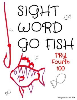 Go Fish! Fry Fourth 100 Sight Word Deck