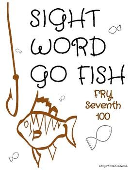 Go Fish! Fry Seventh 100 Sight Word Deck