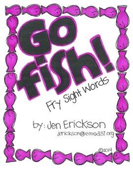 Go Fish! (Fry Sight Words)