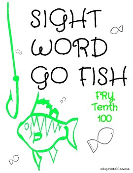 Go Fish! Fry Tenth 100 Sight Word Deck