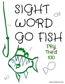 Go Fish! Fry Third 100 Sight Word Deck
