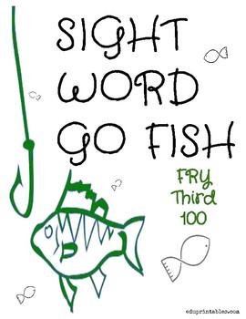 Go Fish! Fry Third 100 Sight Word Deck