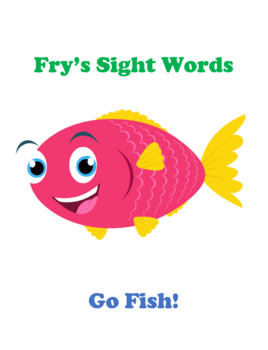 Go Fish!  Fry's Sight Words Game (Group 1)