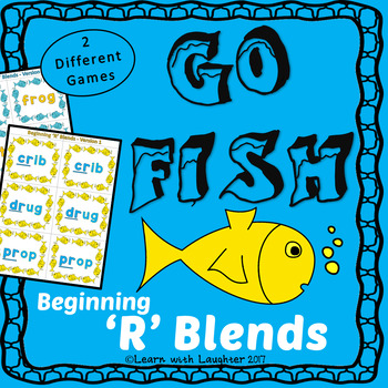 Go Fish Game - Beginning 'R' Blends (2 different games)