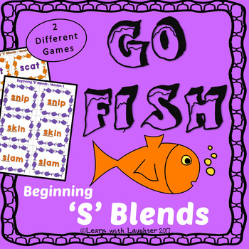 Go Fish Game - Beginning 'S' Blends (2 different games)