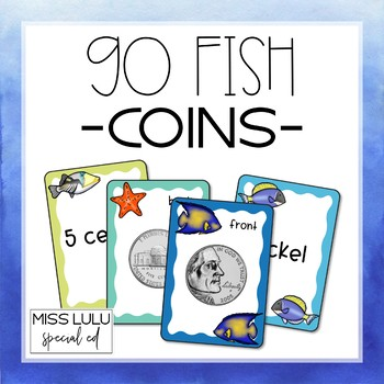 Go Fish Game- Coin Identification