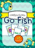Go Fish Game - Contractions!