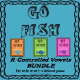 Go Fish Game - R-Controlled Vowels BUNDLE - (ar,er,ir,or,u