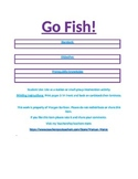 Go Fish Game Template Any Grade Level Any Subject