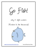 Go Fish Game with four digit numbers