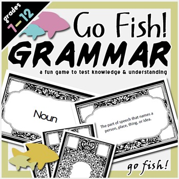 Go Fish Grammar Game