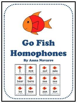 Go Fish Homophones