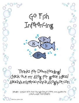 Go Fish - Inferencing - Common Core