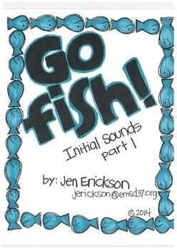Go Fish! (Initial Sounds part 1)