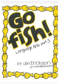 Go Fish! (Language Arts part 3)